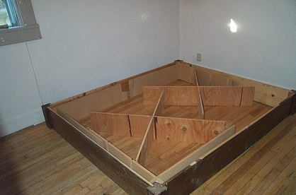Plywood under mattress plywood building roof sheathing On the floor bed frames